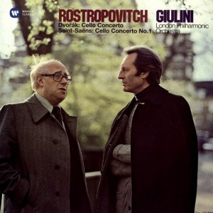 Mstislav Rostropovich - Dvorak: Cello Concerto & Saint-Saens: Cello Concerto No.1 (2Lp) винил lp