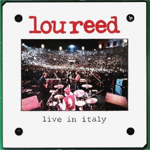 Lou Reed - Live In Italy (2Lp) винил lp