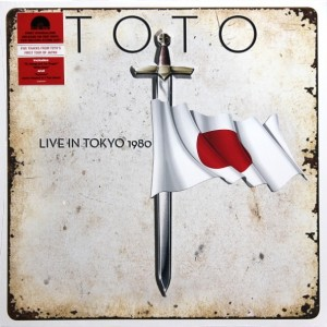 Toto - Live In Tokyo 1980 (Limited Edition, Coloured Vinyl) винил lp