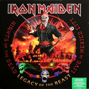 Iron Maiden - Nights Of The Dead, Legacy Of The Beast - Live In Mexico City (Limited Edition, Coloured Vinyl, 3Lp) винил lp