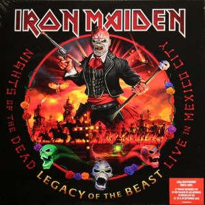 Iron Maiden - Nights Of The Dead, Legacy Of The Beast - Live In Mexico City (Limited Edition, 3Lp) винил lp