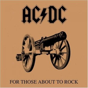 Ac/Dc - For Those About To Rock (We Salute You) винил lp